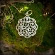 Nr. S038 - Keltische Blume 20mm